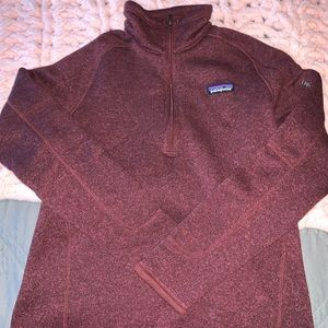 Maroon Better Sweater 1/4 Zip
